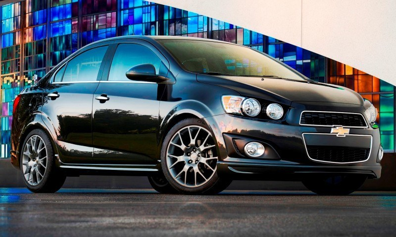 2015 Chevy Sonic RS Sedan and LTZ Dusk Join Cool RS Hatch With Dark Rims, Body Kit and Sporty