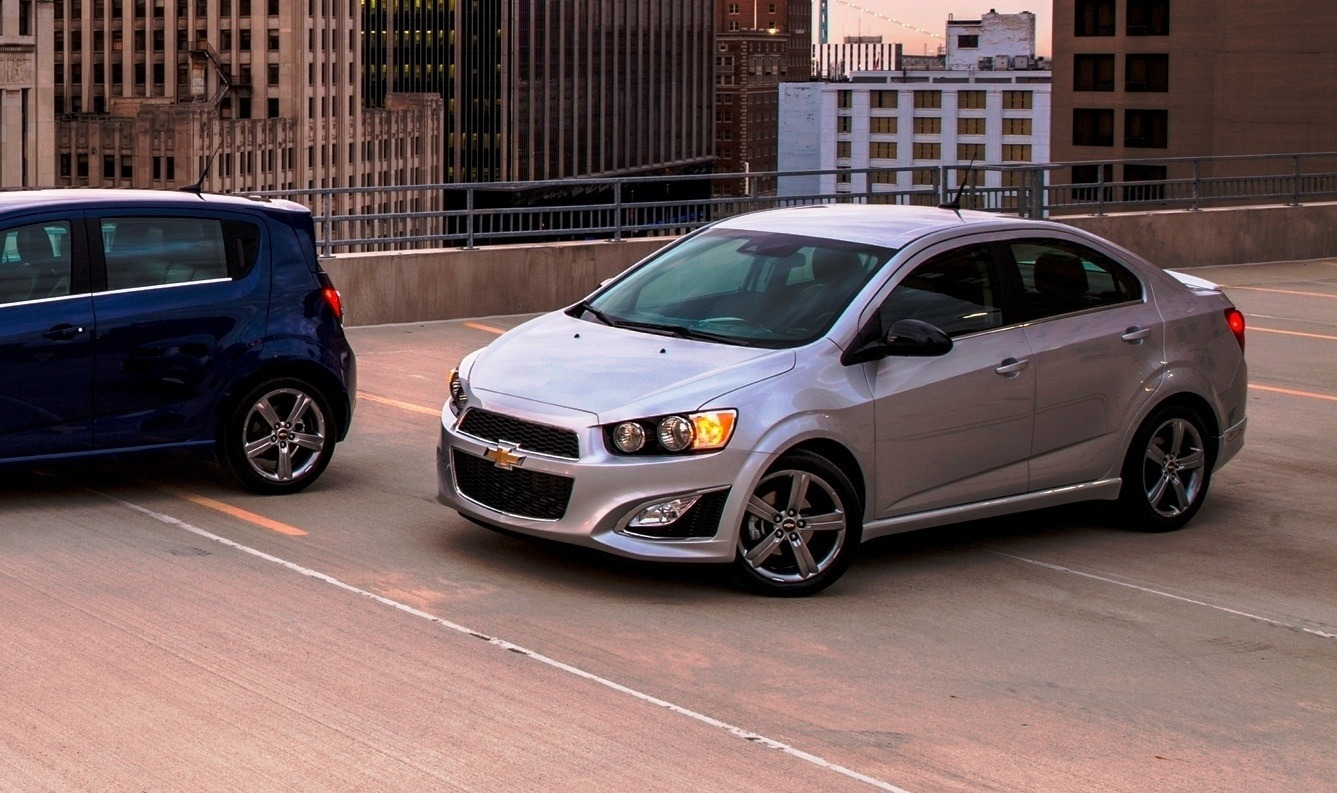 2015 Chevy Sonic RS Sedan and LTZ Dusk Join Cool RS Hatch With ...
