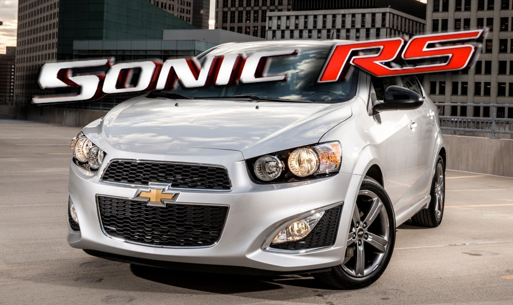 Chevy Sonic Rs Sedan And Ltz Dusk Join Cool Rs Hatch With Dark Rims Body Kit And Sportyggd Handling Tune