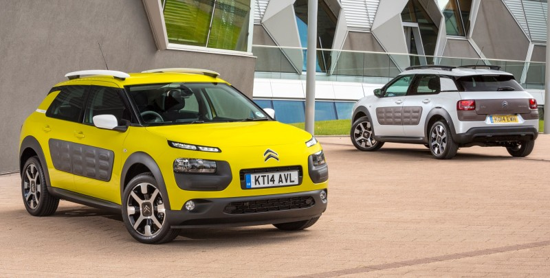2015 Citroen C4 Cactus Is Large-Cabin Crossover With Funky Design Details 2015 Citroen C4 Cactus Is Large-Cabin Crossover With Funky Design Details
