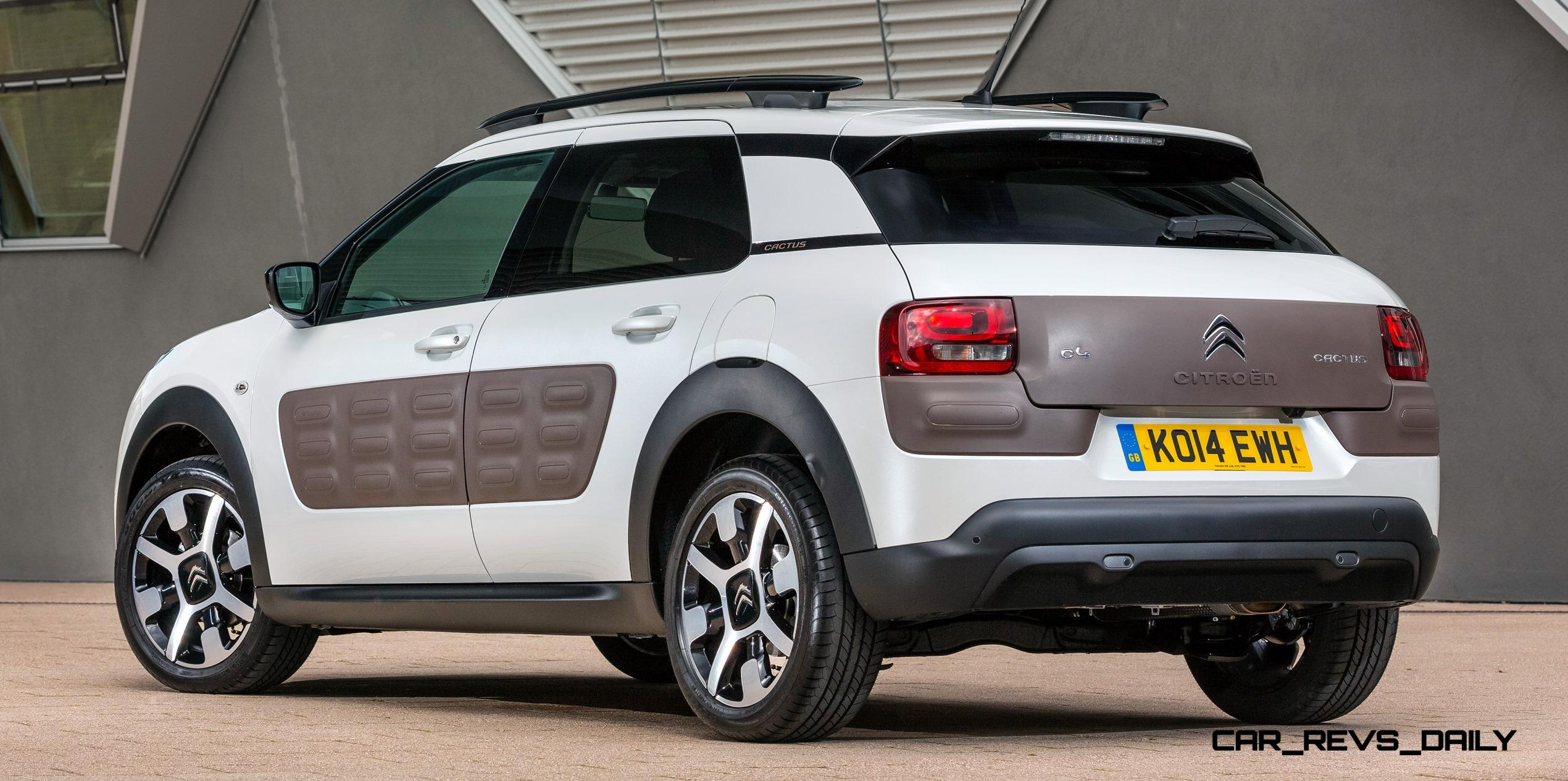 2015 citroen c4 cactus is large cabin crossover with funky. Black Bedroom Furniture Sets. Home Design Ideas