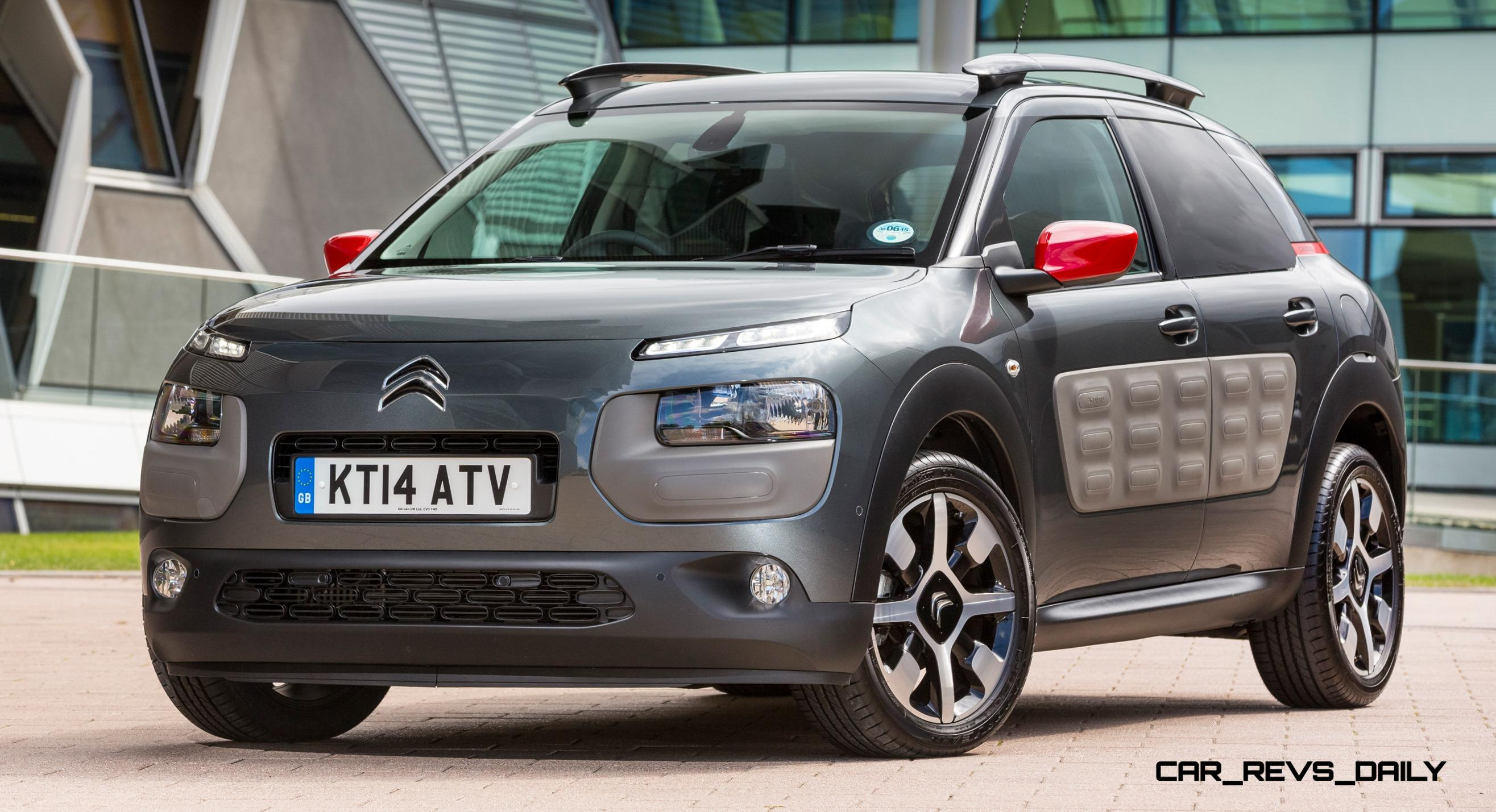 2015 citroen c4 cactus is large cabin crossover with funky design details. Black Bedroom Furniture Sets. Home Design Ideas