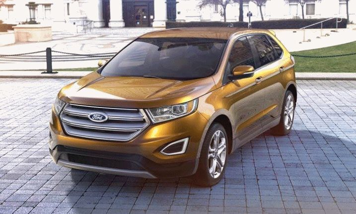 2015 FORD EDGE Electric Spice gif1