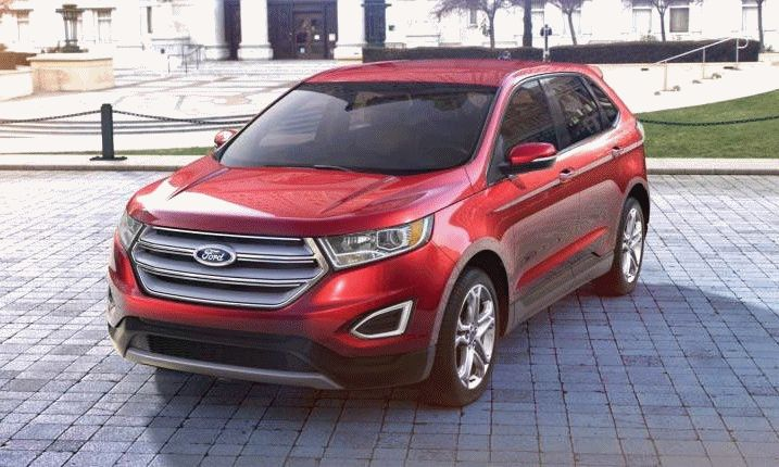 2015 FORD EDGE Ruby Red gif1