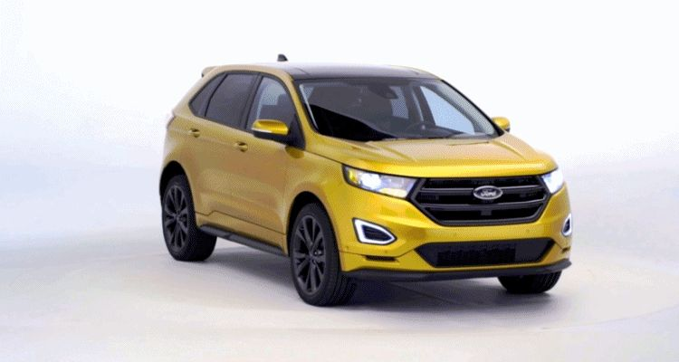 2015 FORD EDGE Turntable animation GIF3 header