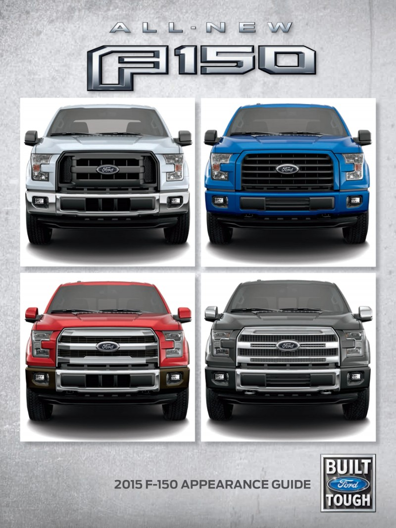 2015 FORD F-150 1