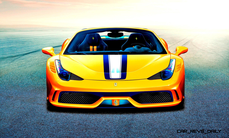 2014 Ferrari 458 Spider >> 2015 Ferrari 458 Speciale Aperta Is Top-Down Heaven With 597HP and 3.0s 62-mph Sprint!