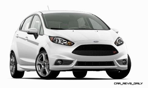 2015 Ford Fiesta ST colors and cabin  2