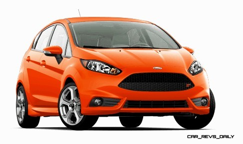 2015 Ford Fiesta ST colors and cabin  3