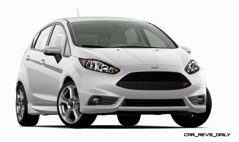 2015 Ford Fiesta ST colors and cabin  4