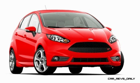 2015 Ford Fiesta ST colors and cabin  5