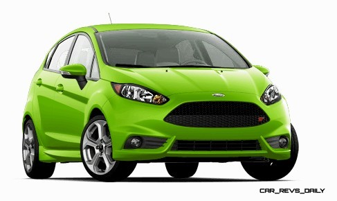 2015 Ford Fiesta ST colors and cabin  7