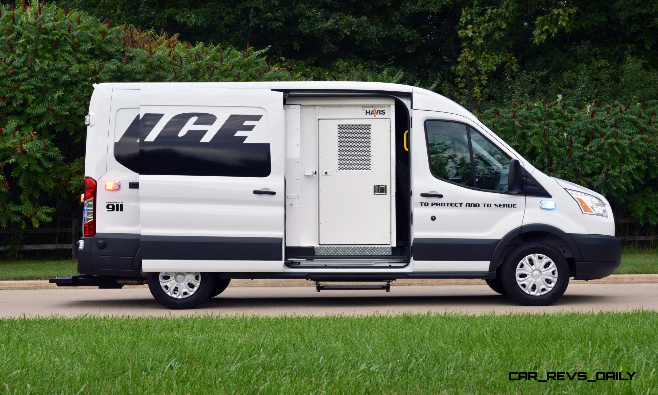 Electric Riding Vehicle >> 2015 Ford Transit Prisoner Transport Vehicle First of Dozens of Commercial Specials