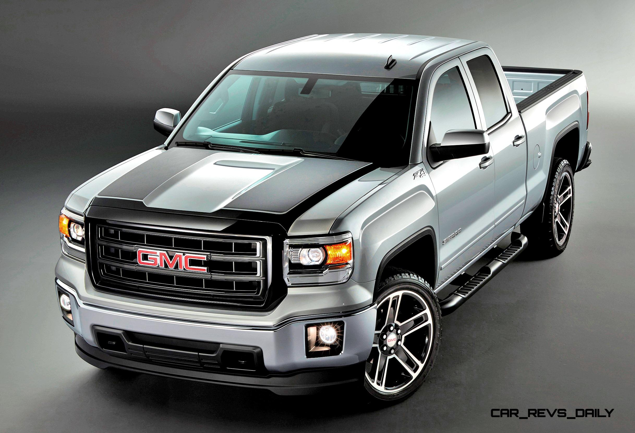 2015 Gmc Sierra Elevation And Carbon Editions Bring Top Flight Leds And Stylish Black Wheels