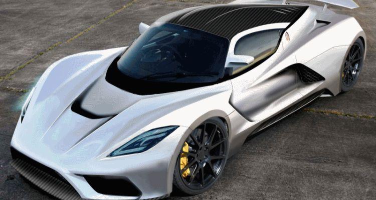 2015 Hennessey Venom F5 Seeks GIF
