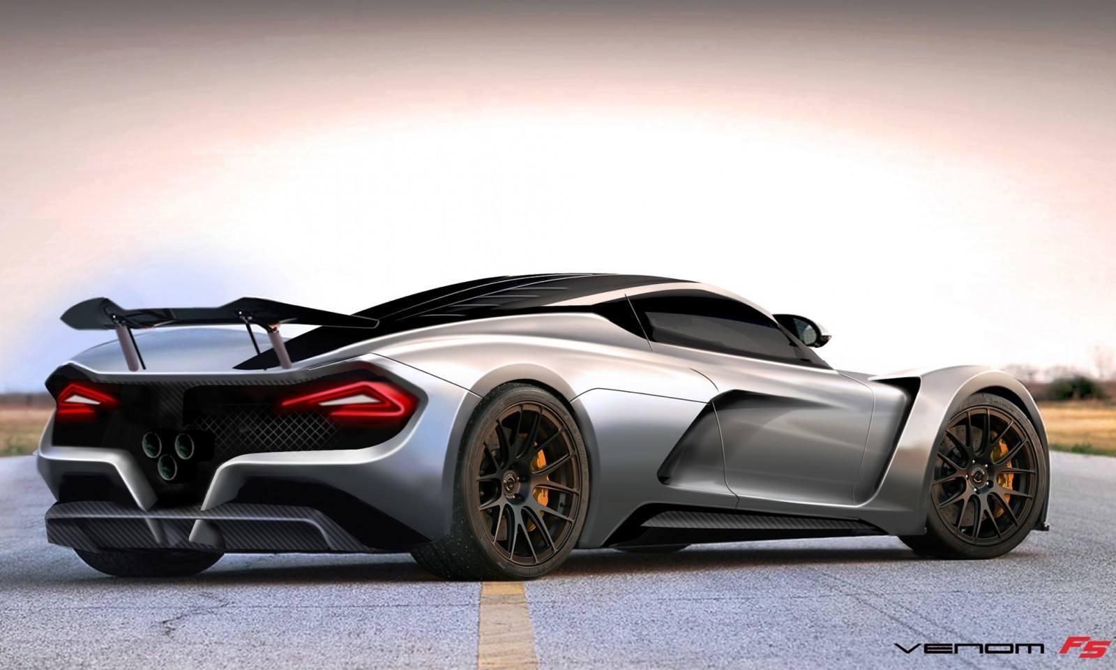 2015 Hennessey Venom F5 Seeks Real 290MPH VMax Via New V8TT, Active Aero and Low-Drag Design 10