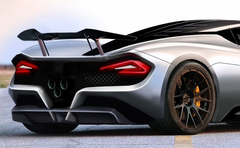 2015 Hennessey Venom F5 Seeks Real 290MPH VMax Via New V8TT, Active Aero and Low-Drag Design 11