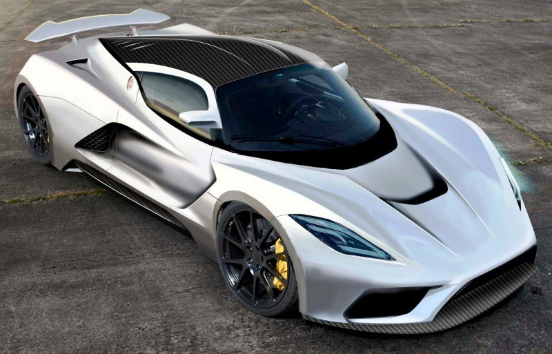 2015 Hennessey Venom F5 Seeks Real 290MPH VMax Via New V8TT, Active Aero and Low-Drag Design 3
