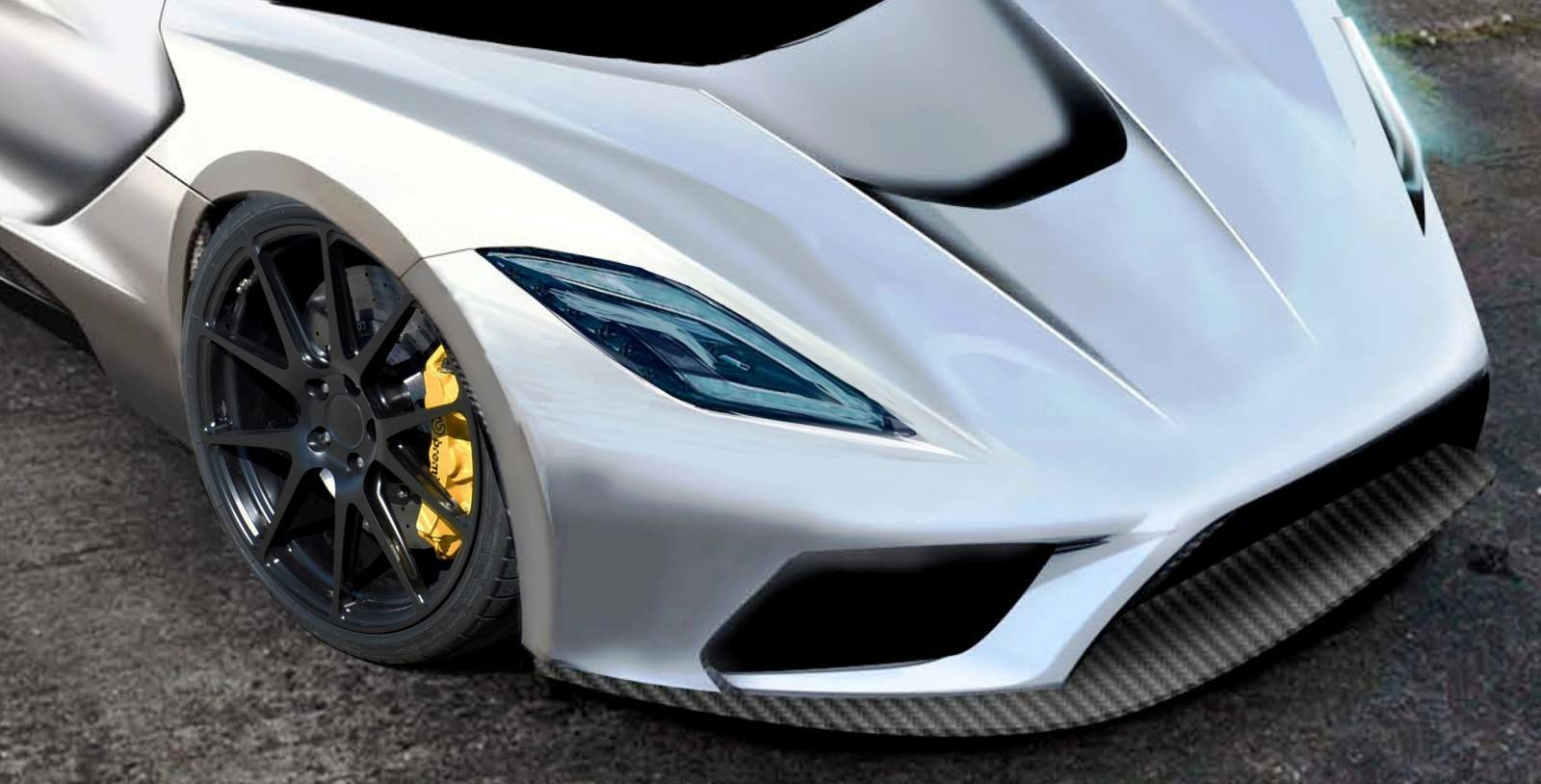 2015 Hennessey Venom F5 Seeks Real 290MPH VMax Via New V8TT, Active Aero and Low-Drag Design 4