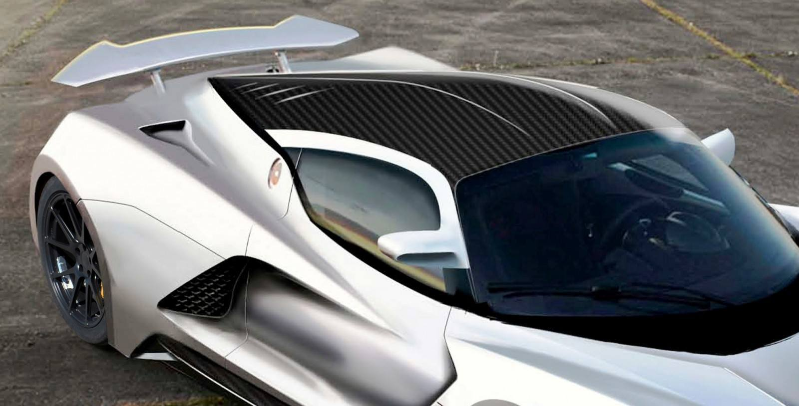 2015 Hennessey Venom F5 Seeks Real 290MPH VMax Via New V8TT, Active Aero and Low-Drag Design 5