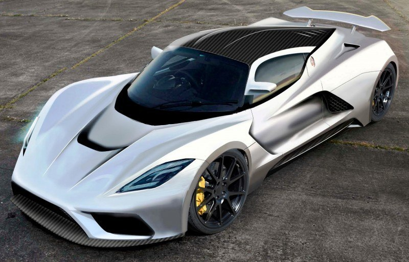 2015 Hennessey Venom F5 Seeks Real 290MPH VMax Via New V8TT, Active Aero and Low-Drag Design 6
