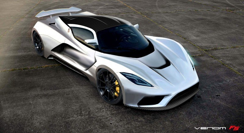 2015 Hennessey Venom F5 Seeks Real 290MPH VMax Via New V8TT, Active Aero and Low-Drag Design 7
