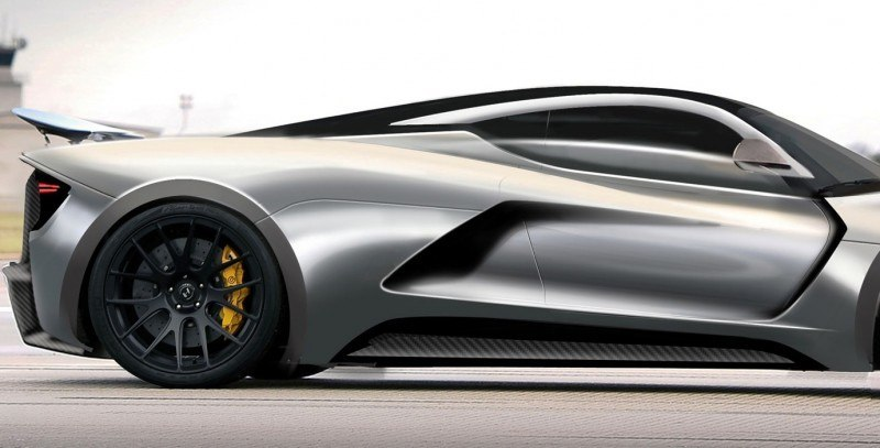 2015 Hennessey Venom F5 Seeks Real 290MPH VMax Via New V8TT, Active Aero and Low-Drag Design 8