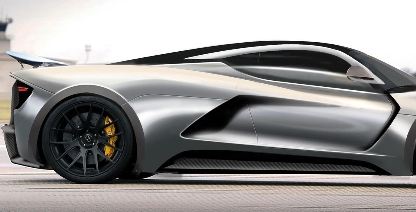 2015 Hennessey Venom F5 Seeks Real 290MPH VMax Via New V8TT, Active Aero and Low-Drag Design 8