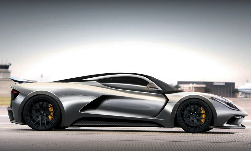 2015 Hennessey Venom F5 Seeks Real 290MPH VMax Via New V8TT, Active Aero and Low-Drag Design 9