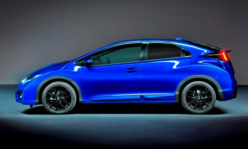 honda civic sport    uk  type  styling accents