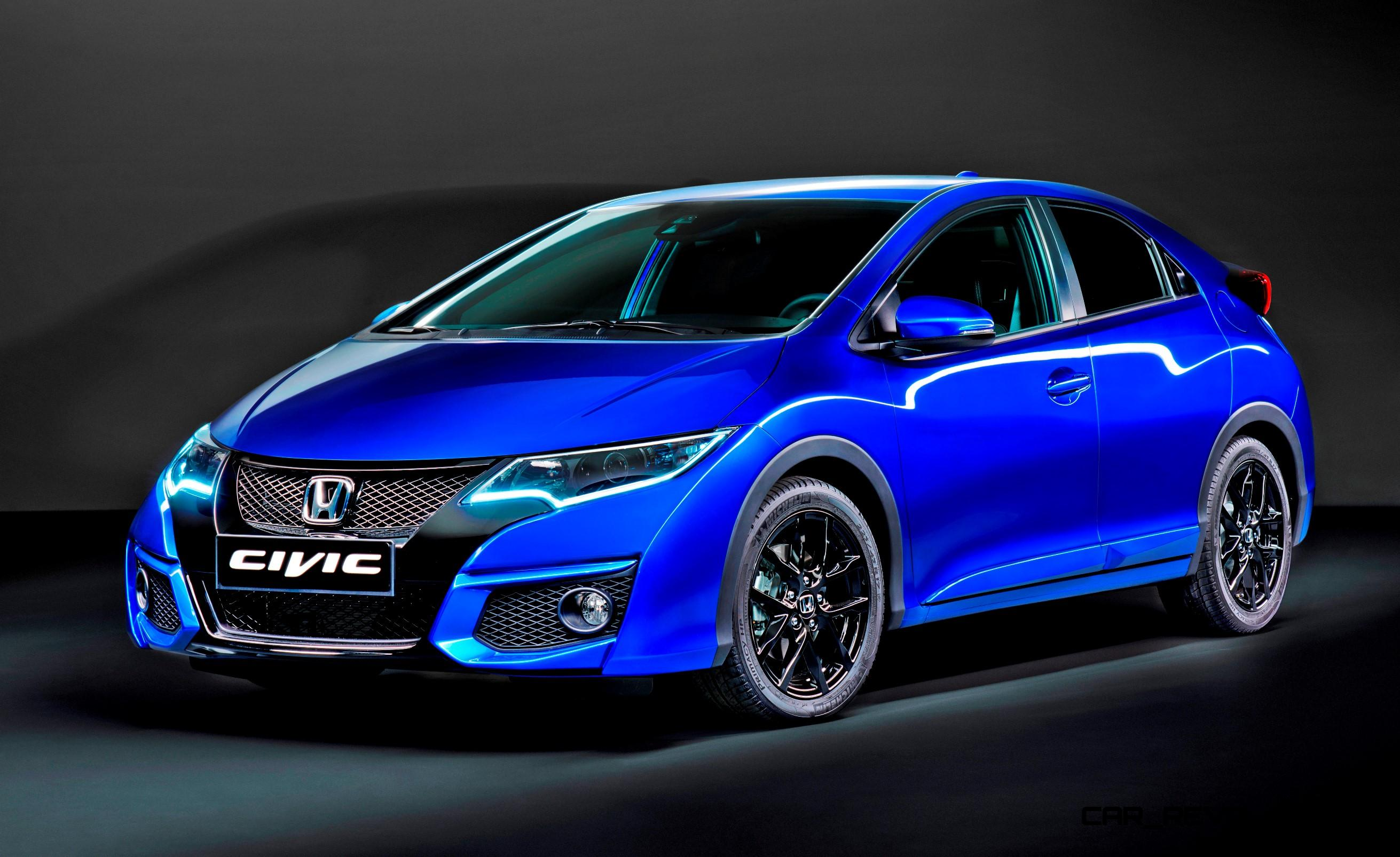 2015 honda civic sport is new for uk with type r styling. Black Bedroom Furniture Sets. Home Design Ideas