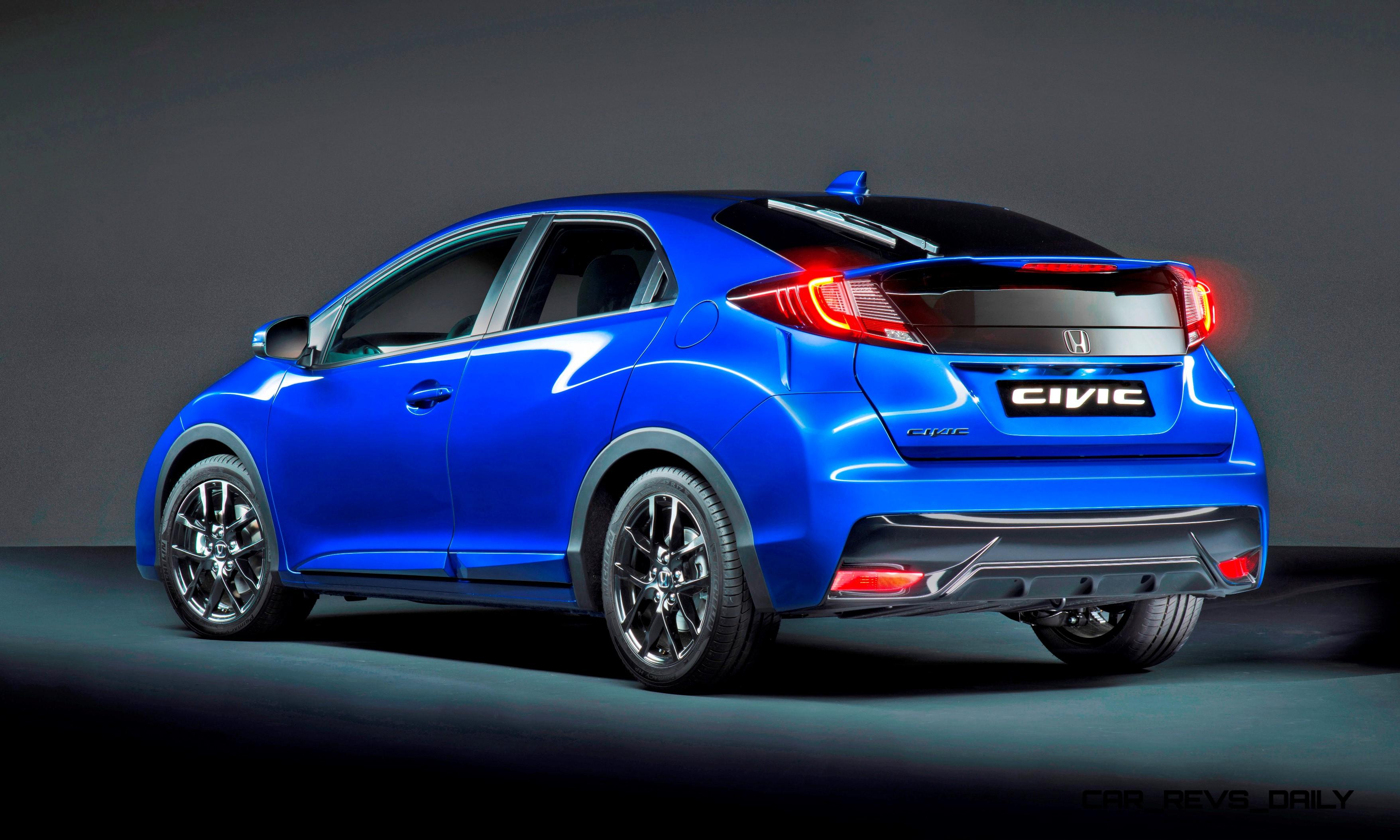 2015 honda civic sport is new for uk with type r styling