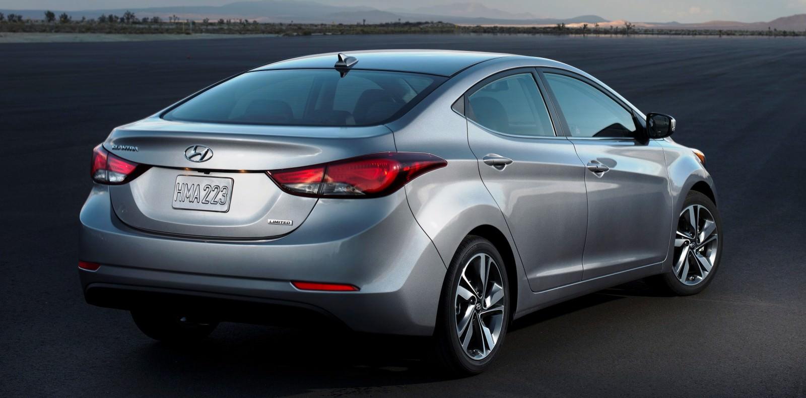 2015 Hyundai Elantra Sedan Brings Classy LED and Tech Updates  16