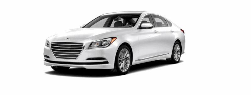 2015 Hyundai Genesis - Casablanca White GIF