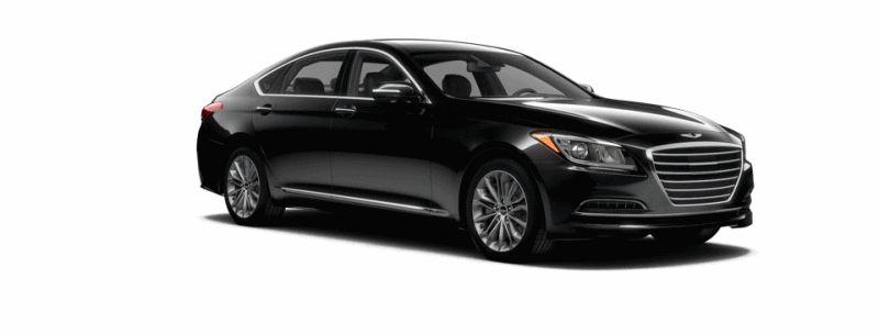 2015 Hyundai Genesis - Caspian Black GIF