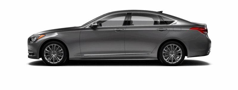 2015 Hyundai Genesis - Empire State Grey GIF