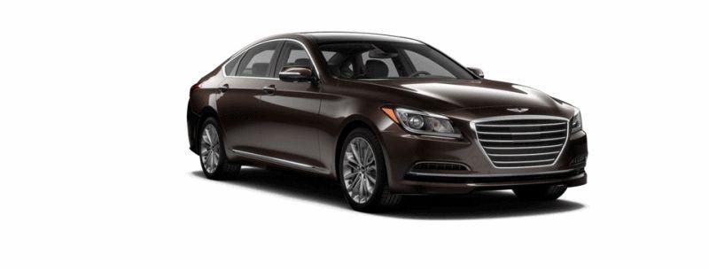 2015 Hyundai Genesis - Manhattan Brown GIF