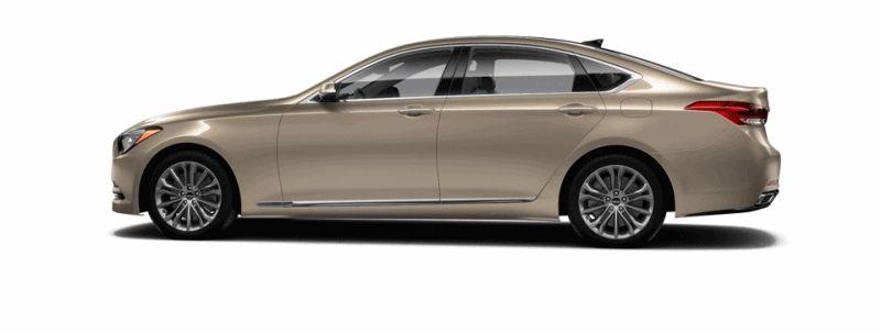 2015 Hyundai Genesis - Marrakesh Beige GIF