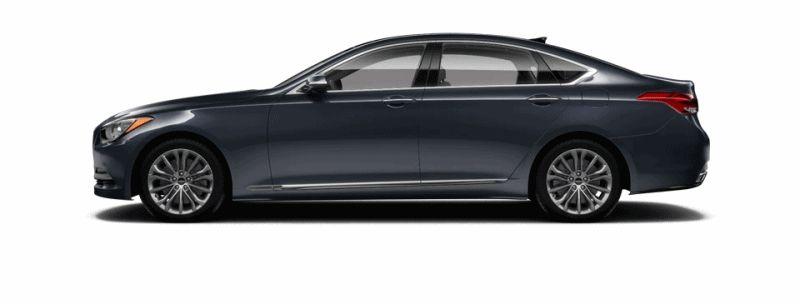 2015 Hyundai Genesis - Montecito Blue GIF