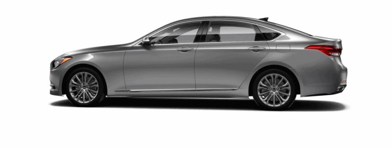 2015 Hyundai Genesis - Parisian Gray GIF