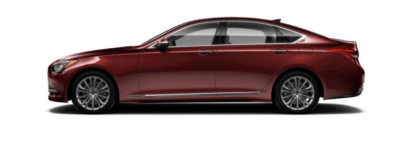 2015 Hyundai Genesis - Pomplona Red GIF