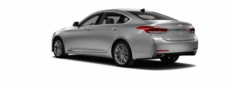 2015 Hyundai Genesis - Santiago Silver GIF