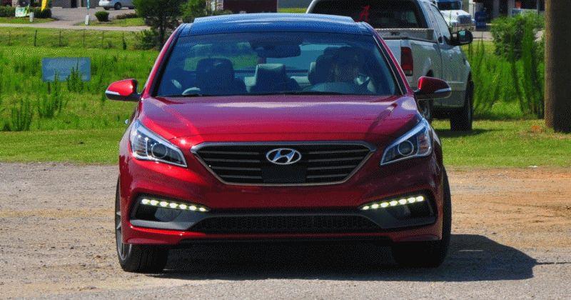 2015 Hyundai Sonata 2.0T Sport GIF4