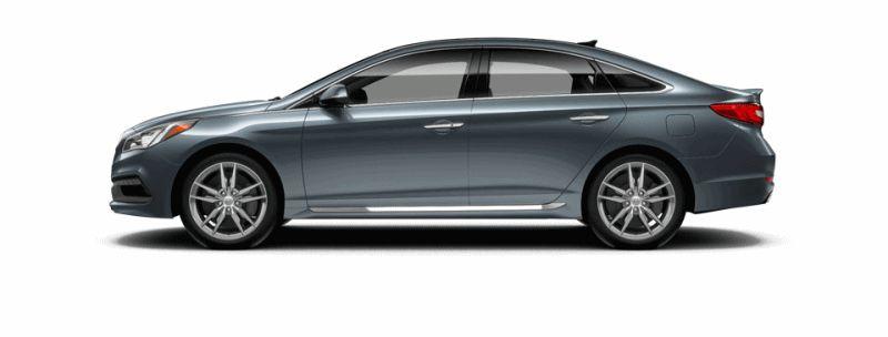 2015 Hyundai Sonata 2.0T Sport - NOUVEAU BLUE Animated Turntable GIF