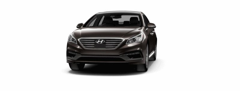 2015 Hyundai Sonata 2.0T Sport - Ultimate Dark Truffle Animated Turntable GIF