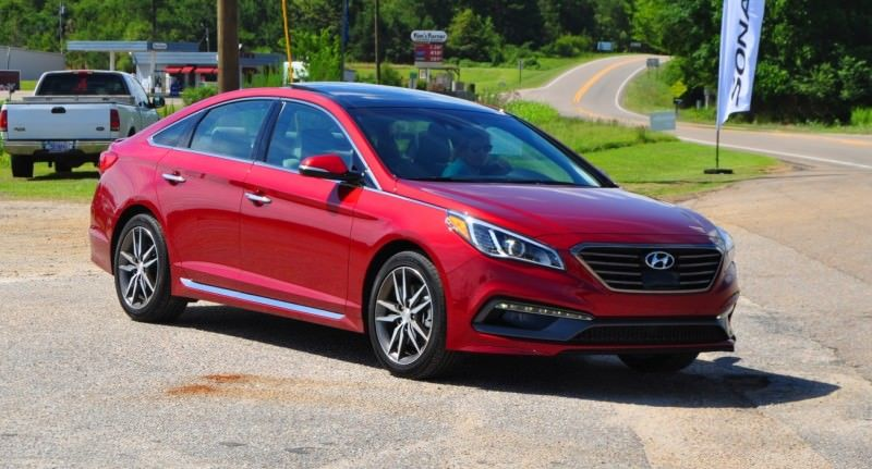 2015 Hyundai Sonata Sport 2.0T - 160 Photos From National Media Launch 156