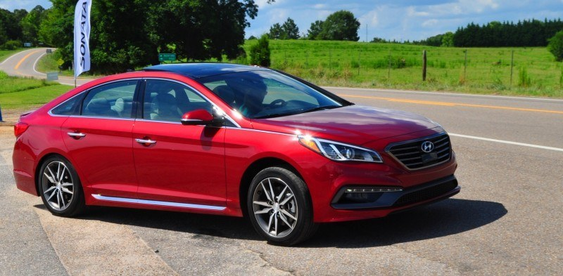 2015 Hyundai Sonata Sport 2.0T - 160 Photos From National Media Launch 157