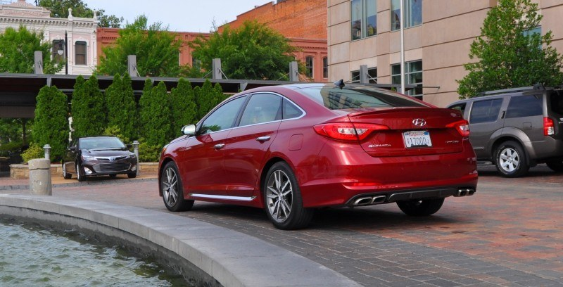 2015 Hyundai Sonata Sport 2.0T - 160 Photos From National Media Launch 32