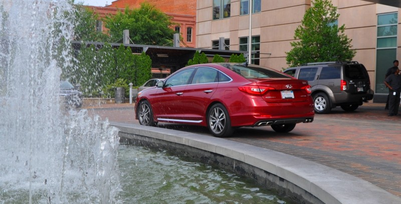 2015 Hyundai Sonata Sport 2.0T - 160 Photos From National Media Launch 33