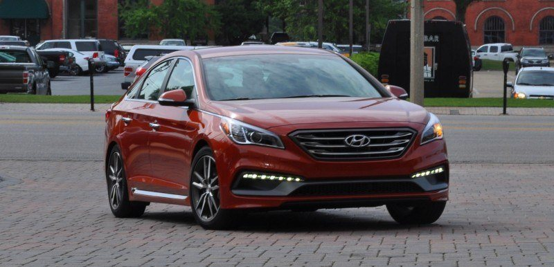 2015 Hyundai Sonata Sport 2.0T - 160 Photos From National Media Launch 34